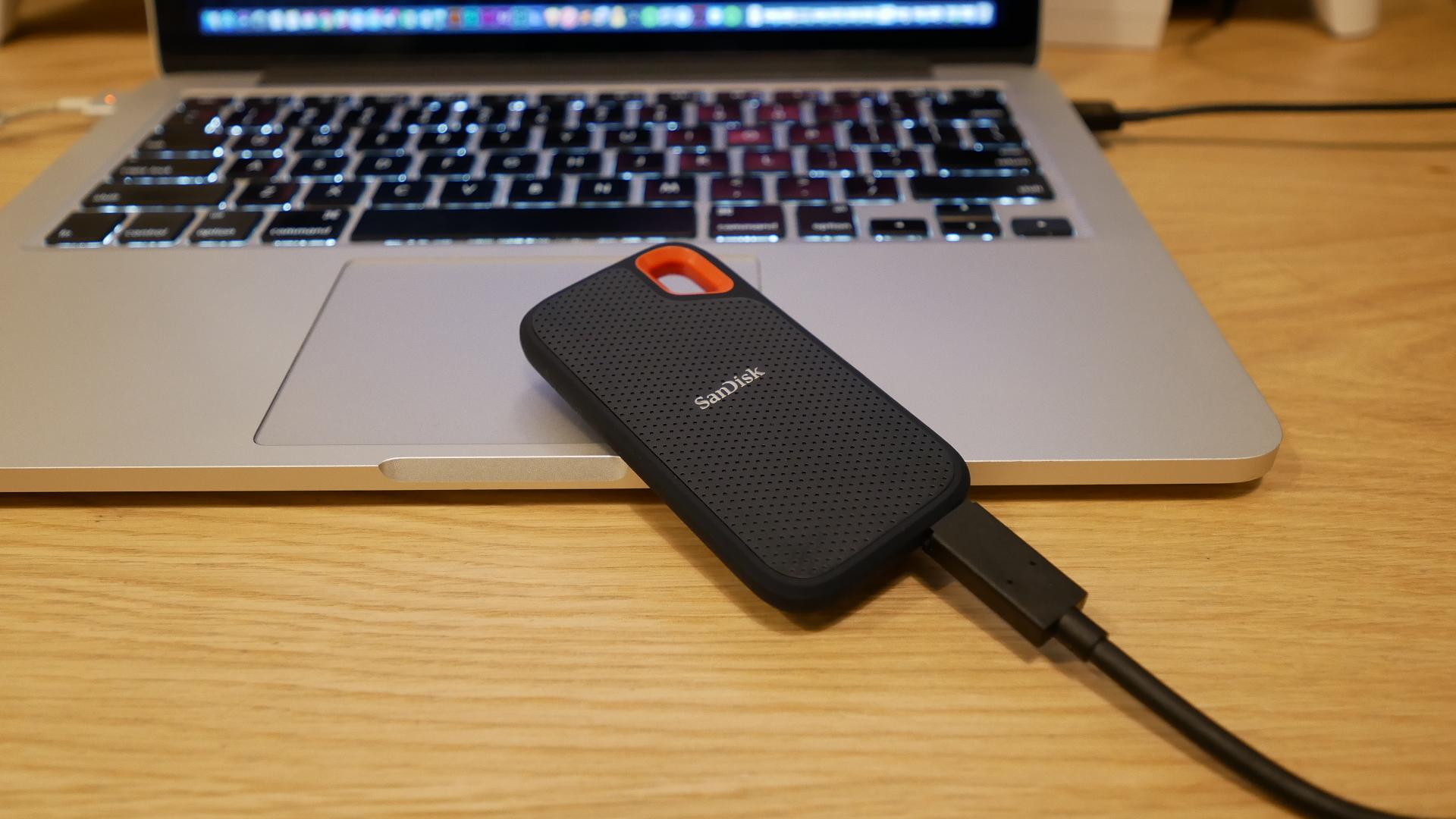nDisk 外付SSD 2TB エクストリーム ポータブル