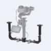 SmallRig DJI Ronin S / Zhiyun Craneシリーズハンドヘルドジンバル専用デュアルハンドグリップ レンタル
