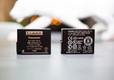 価格は約3分の1!LUMIX G8 互換バッテリーとしてSIGMAの「BP-51」がオススメ!